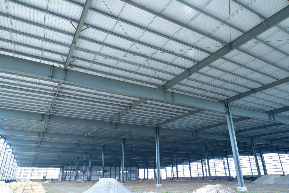 New Multifunctional Building Steel Frames For Industrial Workshops & Warehouses